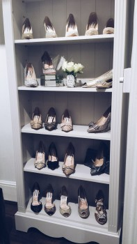 Lucy Choi shoe collection at Connaught Street London store
